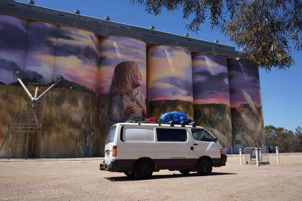 Kimba Silo Artwork - Eyre Peninsula Road Trip - South Australia Road Trips