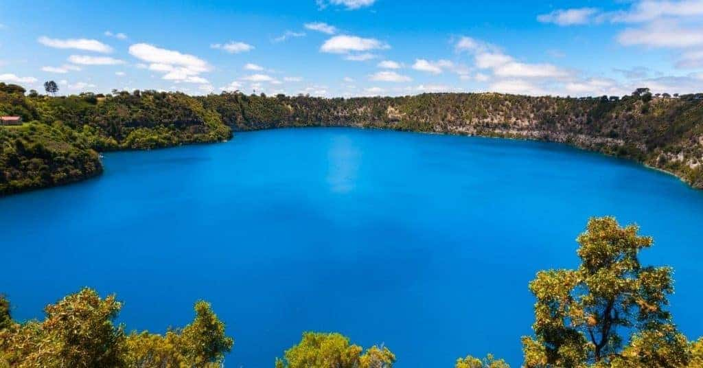 The Blue Lake Mount Gambier - Things To Do Limestone Coast - South Australia Road Trips