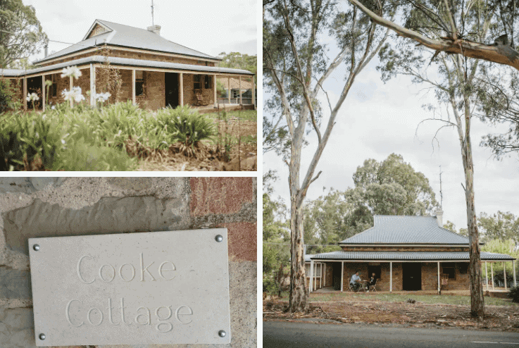Cooke Cottage - Clare Valley Cottages - South Australia Road Trips