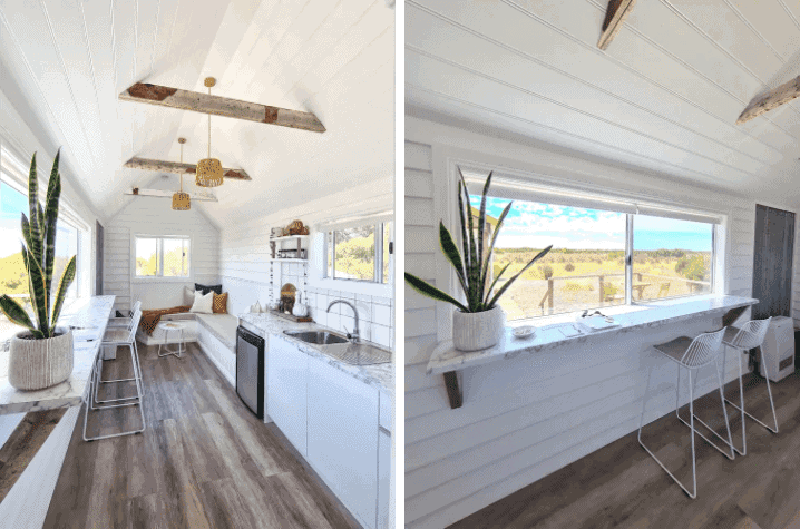 Bayside Glamping's Tiny House - Accommodation on Yorkes - South Australia Road Trip