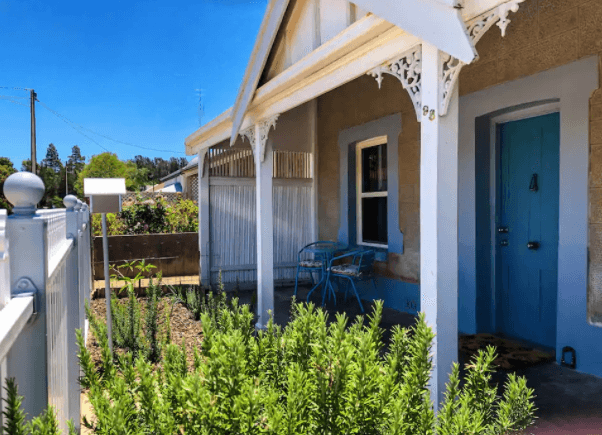 Refurbished Miners Cottage - Moonta AIrbnb - South Australia Road Trips