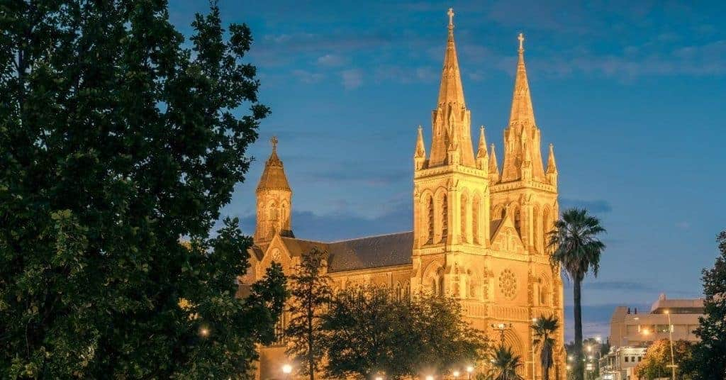 St Peter's Cathedral - Things To Do In Adelaide - South Australia Road Trips