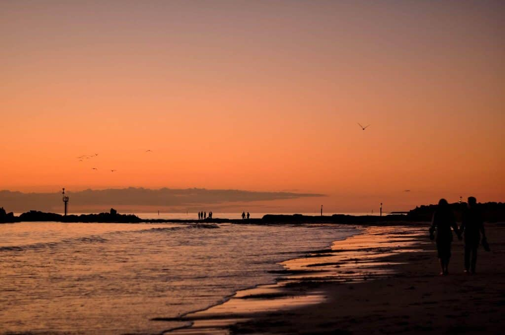 Sunsets at Glenelg - Things To Do In Adelaide - South Australia Road Trips