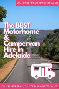 The Best Motorhome & Campervan Hire in Adelaide - South Australia Road Trips