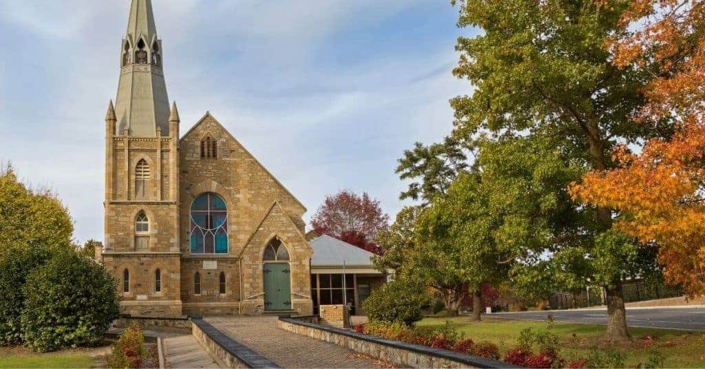Hahndorf Church - Things To Do - Adelaide Hills - South Australia Road Trips