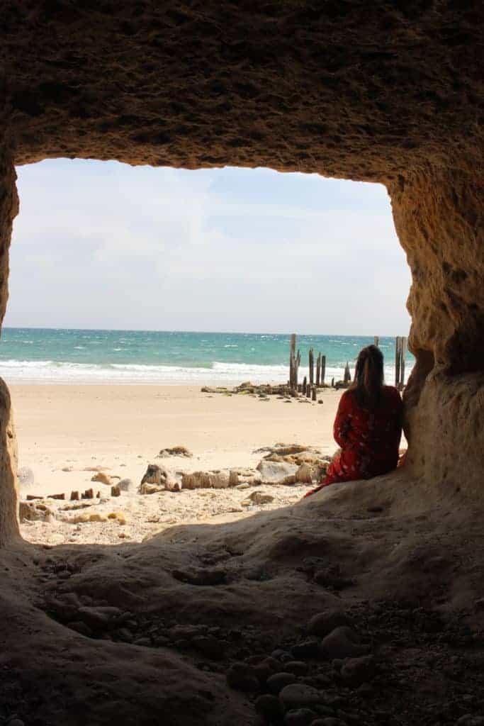 Port Willunga Pylons and Cave - Fleurieu Peninsula Beaches - South Australia Road Trips